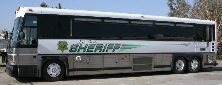 Kern County Sheriff's Bus