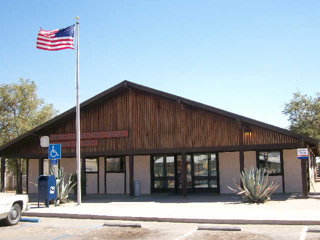 Rosamond Post Office Picture