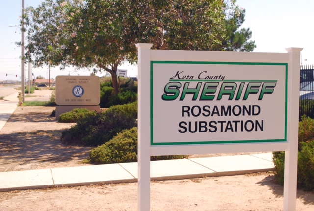 Rosamond Substation Sign Picture